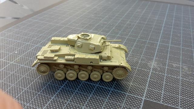 PzkPfw II Ausf.F -- Revell--1/72 (ex Matchbox) 20171018