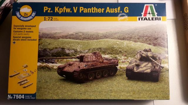Bergepanther SdKfz 179 Auf M  ( Armourfast 1/72 )  20171113