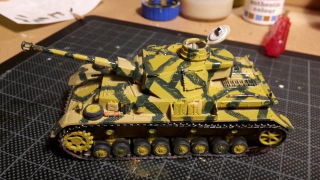 Panzerkampfwagen IV Ausf.H - ESCI - 1/72 20180220