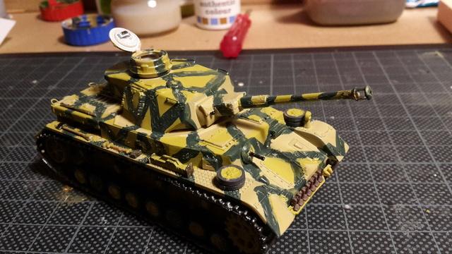 Panzerkampfwagen IV Ausf.H - ESCI - 1/72 20180221