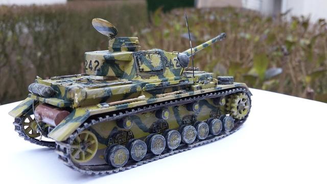 Panzerkampfwagen IV Ausf.H - ESCI - 1/72 20180226