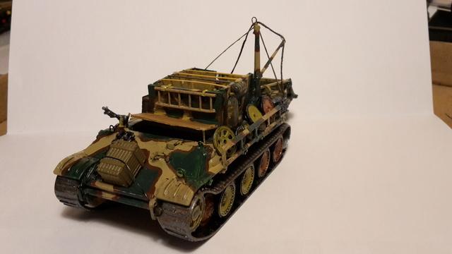 Bergepanther SdKfz 179 Auf M  ( Armourfast 1/72 )  21-11-10