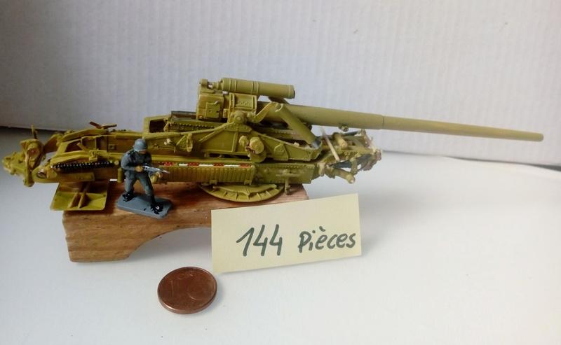 Canon lourd Kanone 18 de 17 cm. -- Revell -- 1/72 29-11-10