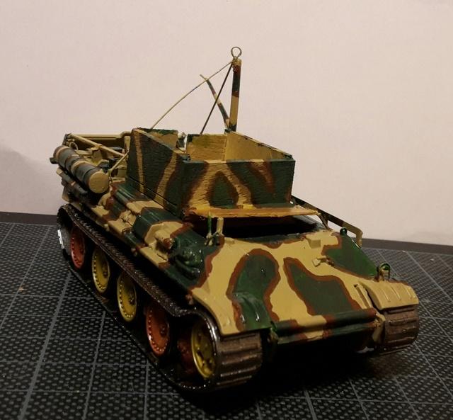 Bergepanther SdKfz 179 Auf M  ( Armourfast 1/72 )  Camo-110
