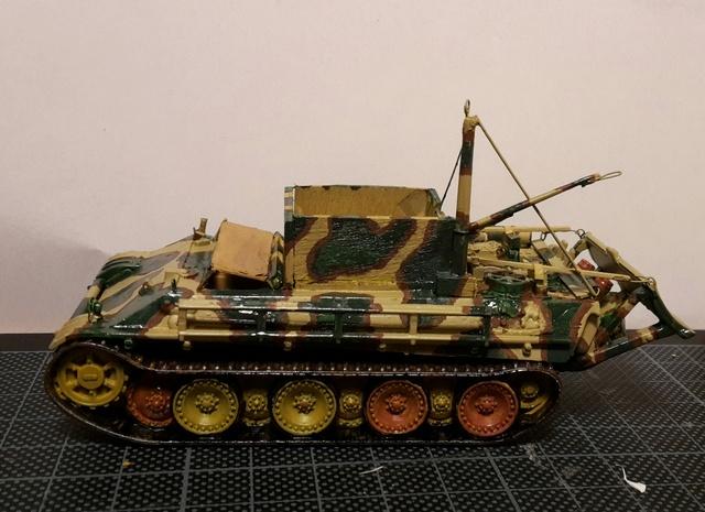 Bergepanther SdKfz 179 Auf M  ( Armourfast 1/72 )  Camo-112