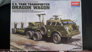 DRAGON WAGON--Academy--1/72  Charge10