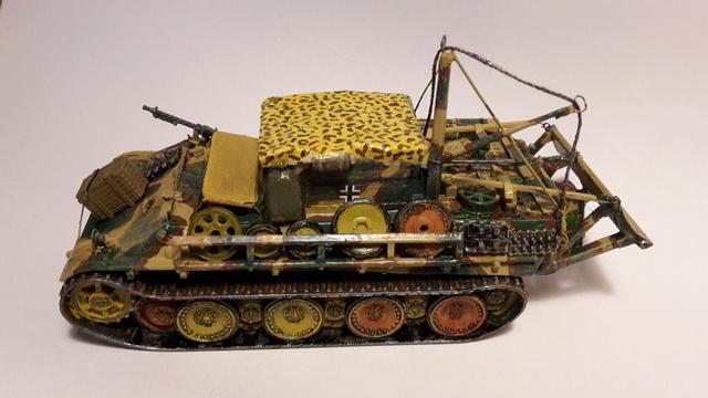 Bergepanther SdKfz 179 Auf M  ( Armourfast 1/72 )  Fini_l13