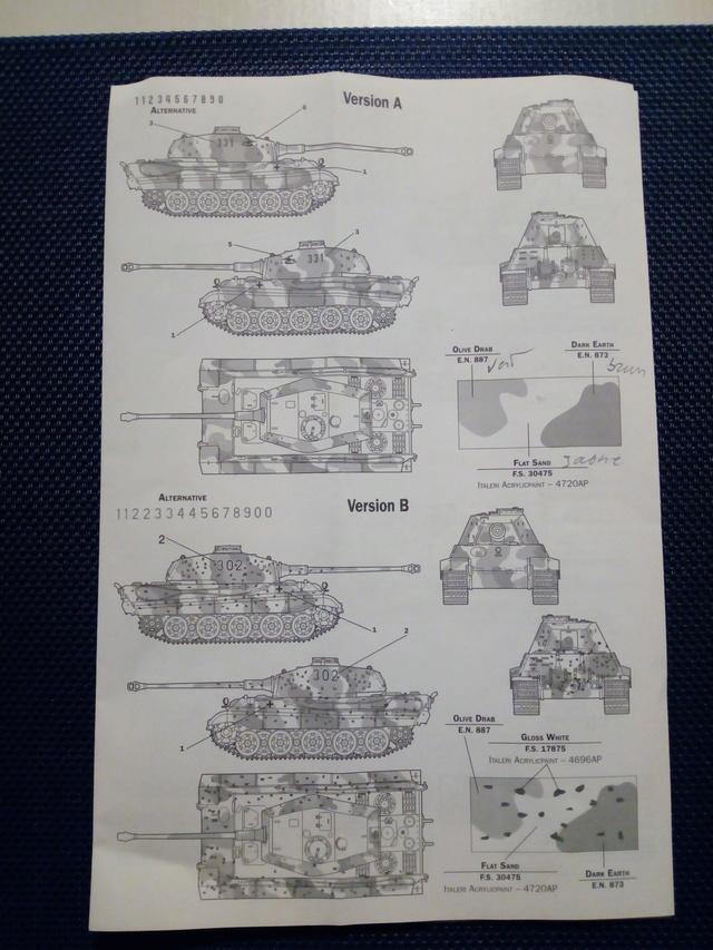 Sd.Kfz. 182 - Pz.Kpfw. VI King Tiger - Italeri - 1/72 Img_2038