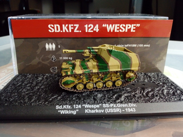 Sd.Kfz 124 - Wespe - Collection ALTAYA - 1/72 Img_2043
