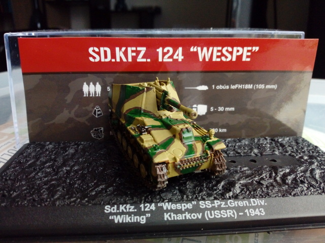 Sd.Kfz 124 - Wespe - Collection ALTAYA - 1/72 Img_2044