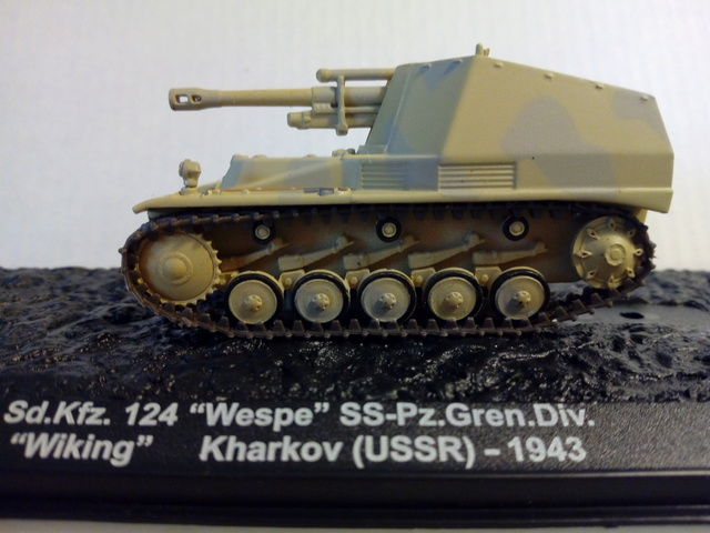 Sd.Kfz 124 - Wespe - Collection ALTAYA - 1/72 Sdkfz_11