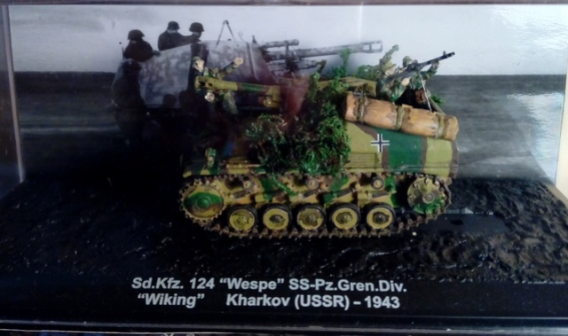 Sd.Kfz 124 - Wespe - Collection ALTAYA - 1/72 Wespe_10