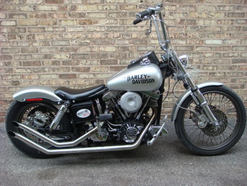 un nouveau FLH 1200 - Page 4 Harley10