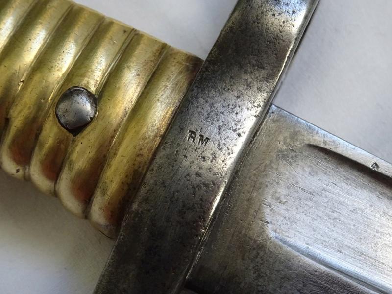 Sabre-baïonnette pour fusil Remington Dsc05322