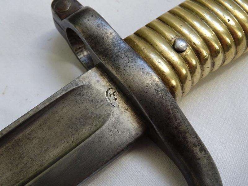 Sabre-baïonnette pour fusil Remington Dsc05324