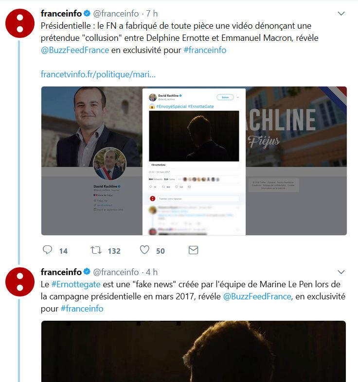 "A quoi sert  #ErnotteGate - #FakeNews"" 10 mois après sa sortie ? Ernott11"