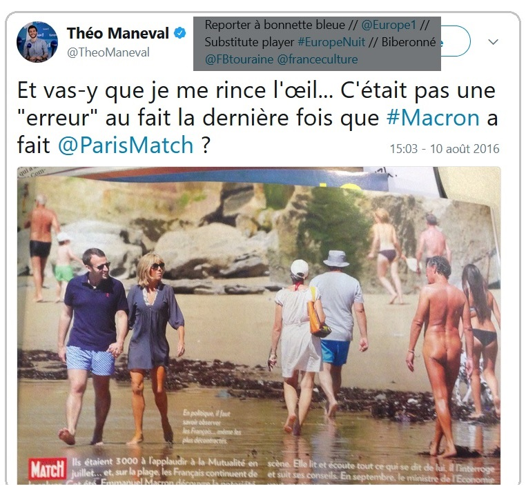 Le sondage ODOXA Fake News - nouvelle escroquerie institutionelle  Macron13