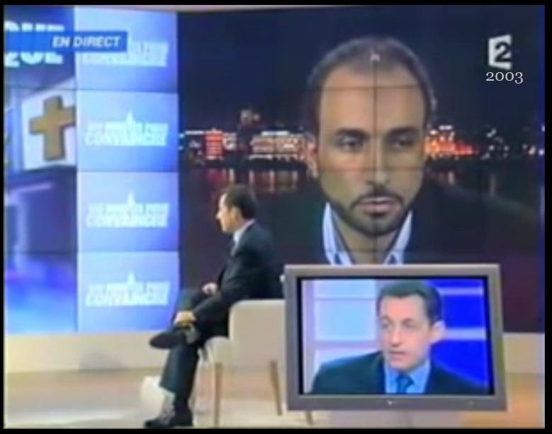 Quand Nicolas Sarkozy ministre de l'Intérieur démasquait Tariq Ramadan, c'était il y a 14 ans  Sarkoz10