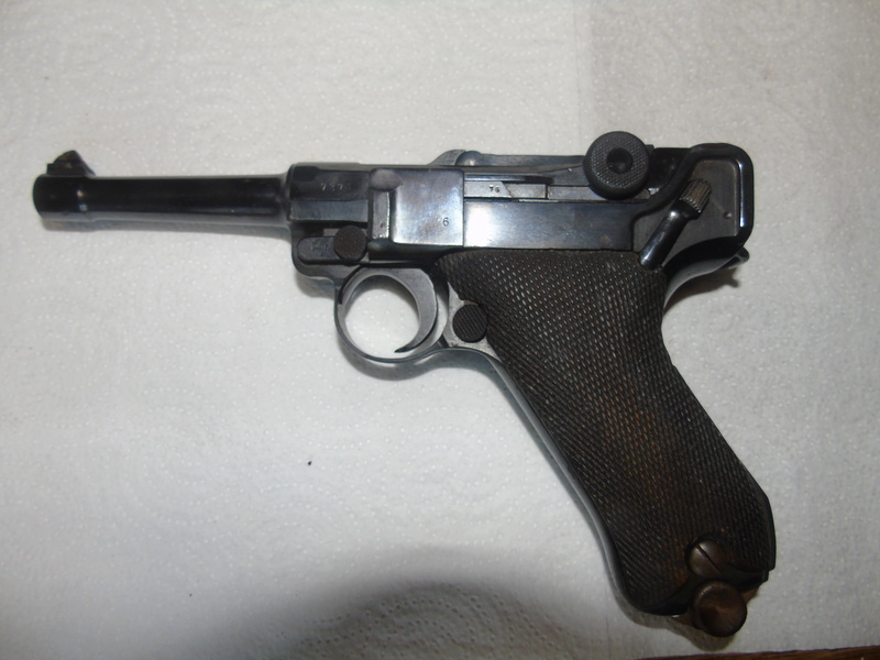 """Un rare Luger Mauser commercial """"banner"""", daté 42. Dsc01616"""