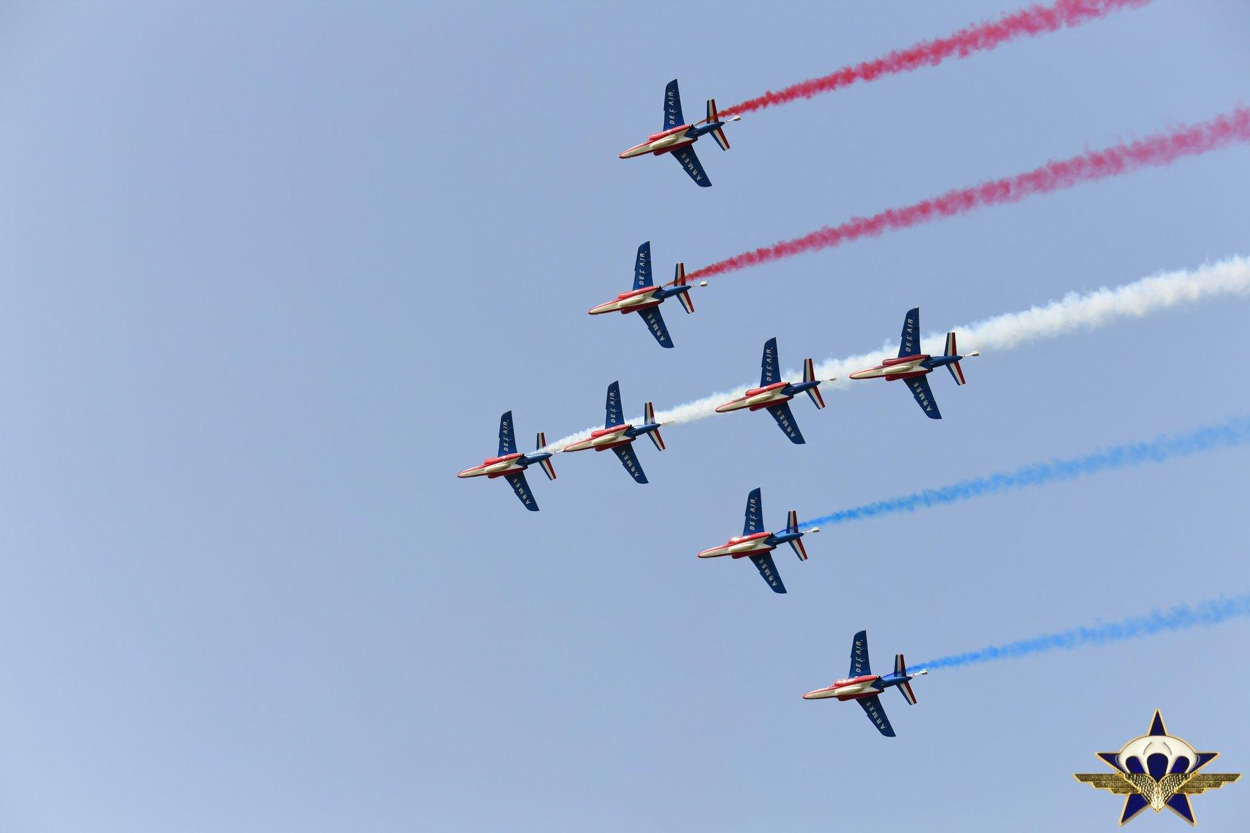 Retour en images sur les JPO du 1er para avec la patrouille de France et...... Jpo_2024