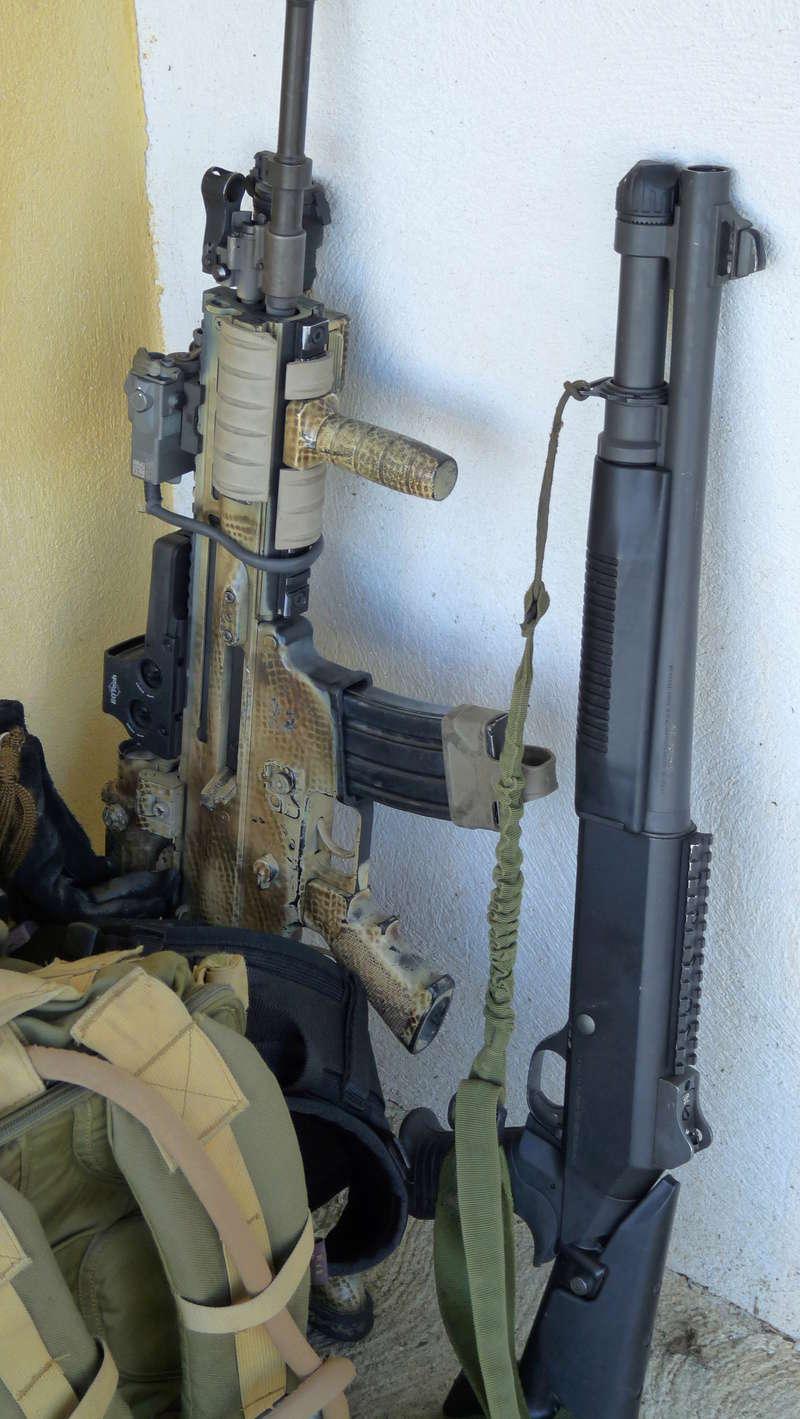 Quelques armes en dotation chez les GCP du 1er RCP P1080613