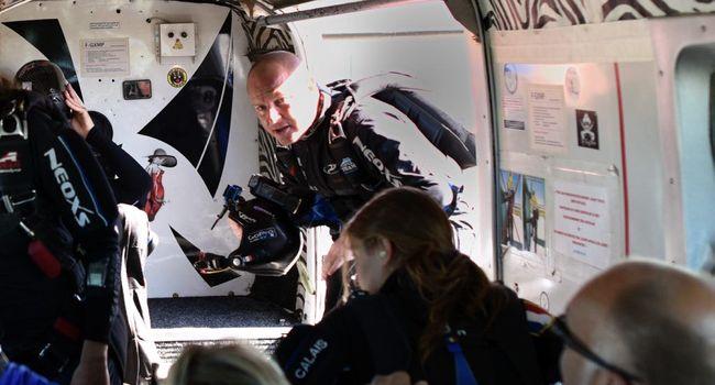 Parachutisme sportif,l'élite Nationale s'entraîne à Pamiers Parach10