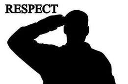 décès du Commandant AUDOUIT Pierre. Ancien du 1° RCP,  Brevet N°5702 et Adhérent à l'Amicale , Il a servi en 39/45, Indochine et Algérie.  Respec11