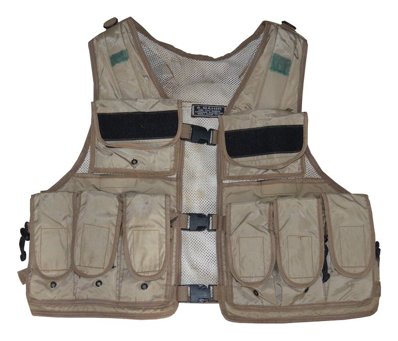 Afghan made combat vest from ISIS in Iraq  Dsc_0818