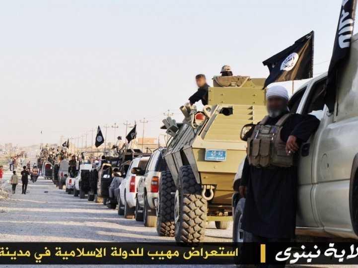 ISIS black Qamis  Isis-m11
