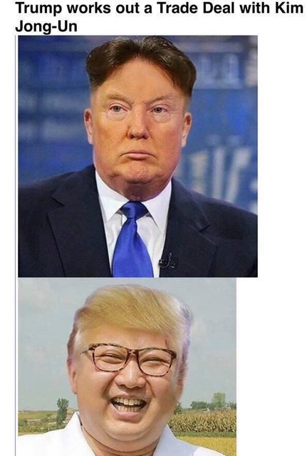 Trump makes deal with Jong-Un Trumpu10