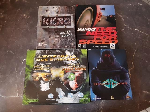 [ESTIM] jeux PC big box 20180311