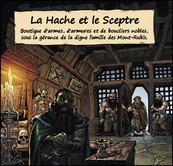 La Hache et le Sceptre [Boutique] Bazar11