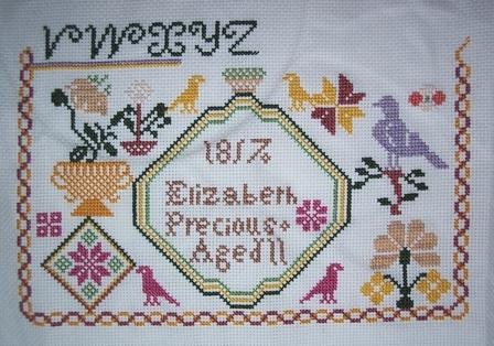 elizabeth precious 1817 (collection gigi r.) commencé le 1/1 (fini) 2017_g10