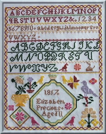 elizabeth precious 1817 (collection gigi r.) commencé le 1/1 (fini) 2017_g12
