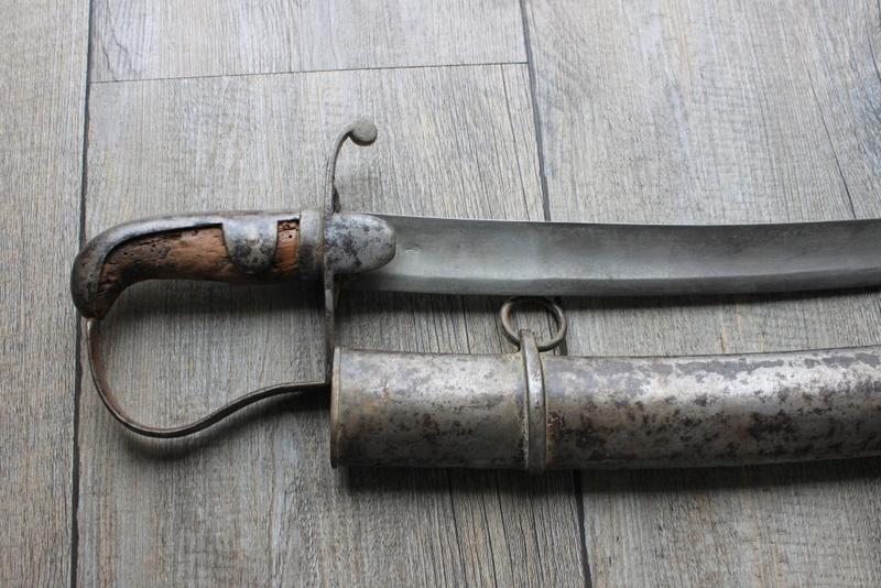 SABRE DE CAVALERIE BRITANNIQUE MODELE 1796 Img_9319