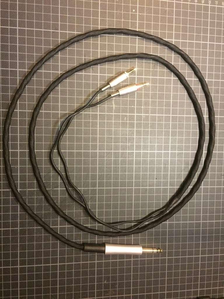 [PG ]Cavo per Denon 7200 realizzato con cavo Sennheiser HD-800 Img_5012