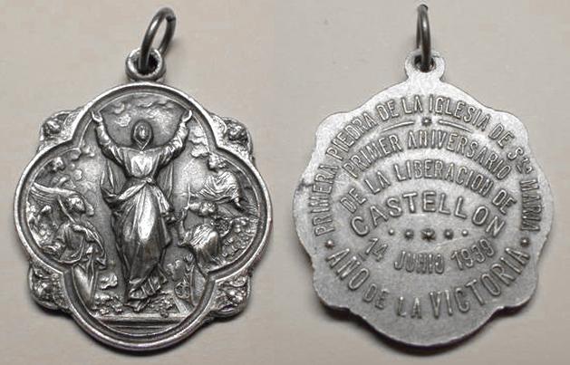 Medallas religiosas Año de la Victoria 1939 y año 1940 (MAM) 1939_s10