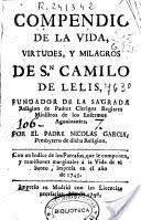 San Carlos Borromeo / Emblema Padres Camilianos (R.M. SXVII-C83) Conten10