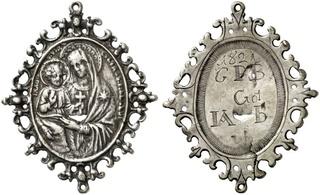 Virgen Misericordia de San Benito en Piscinula / Inscripción, S. XVIII Miseri11