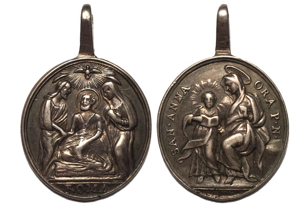 Muerte de San José / Santa Ana con Virgen Niña (R.M. SXVIII-O378) Muerte10