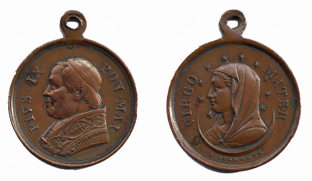 Medallas papa nº 255 Pio IX Pio_ix10
