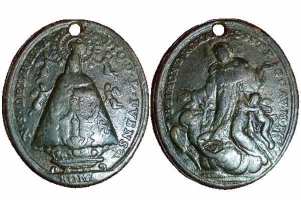 Virgen de los Remedios de la Fuensanta / Beato Simón de Roxas (R.M. SXVIII-O3799 Remedi10