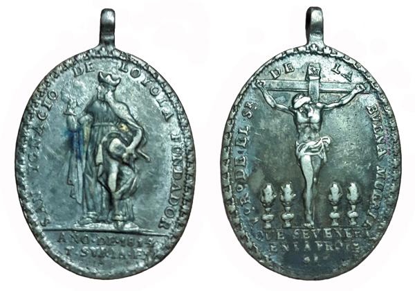 Recopilacion 180 medallas de San Ignacio de Loyola Zz19_110