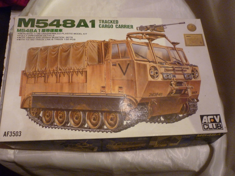 Ravitaillement - M548A1 . AFV CLUB . 1/35 P1080538