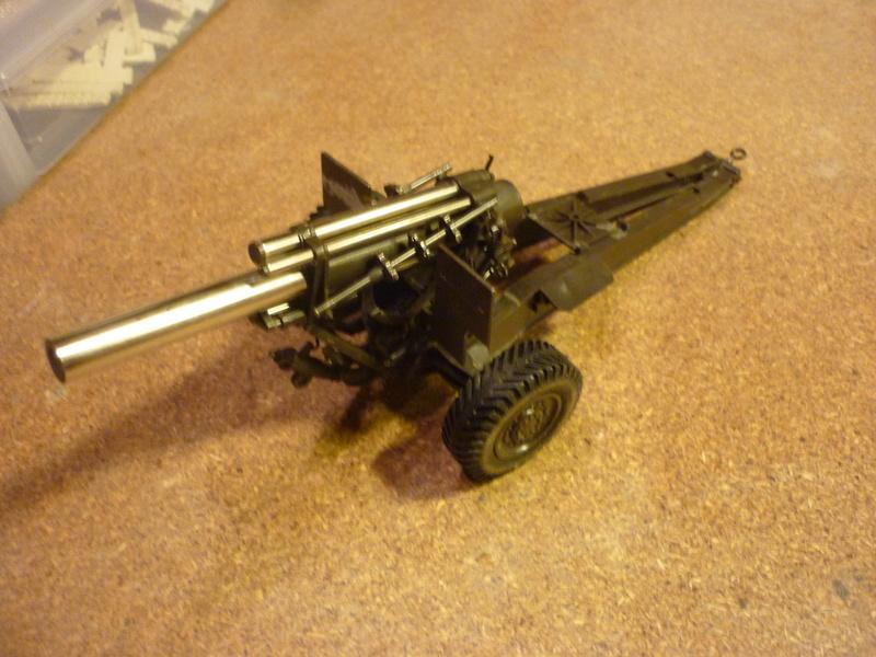 155mm Howitzer 1/35 Airfix P1080610