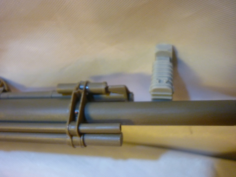 US 155mm howitzer M114A1 BRONCO 1:35 P1080615