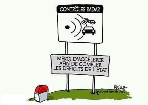 Le radar tourelle au bord des routes cette année. 9a4b5510