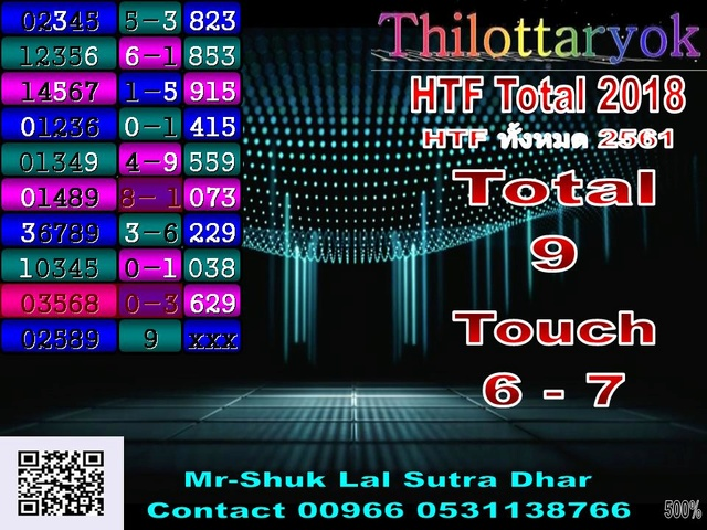 Mr-Shuk Lal 100% Tips 16-06-2018 - Page 2 Total_76