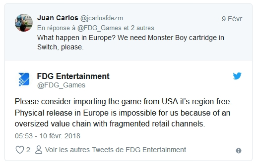 [PRECO] Monster Boy & the Cursed Kingdom sur Switch Monste11
