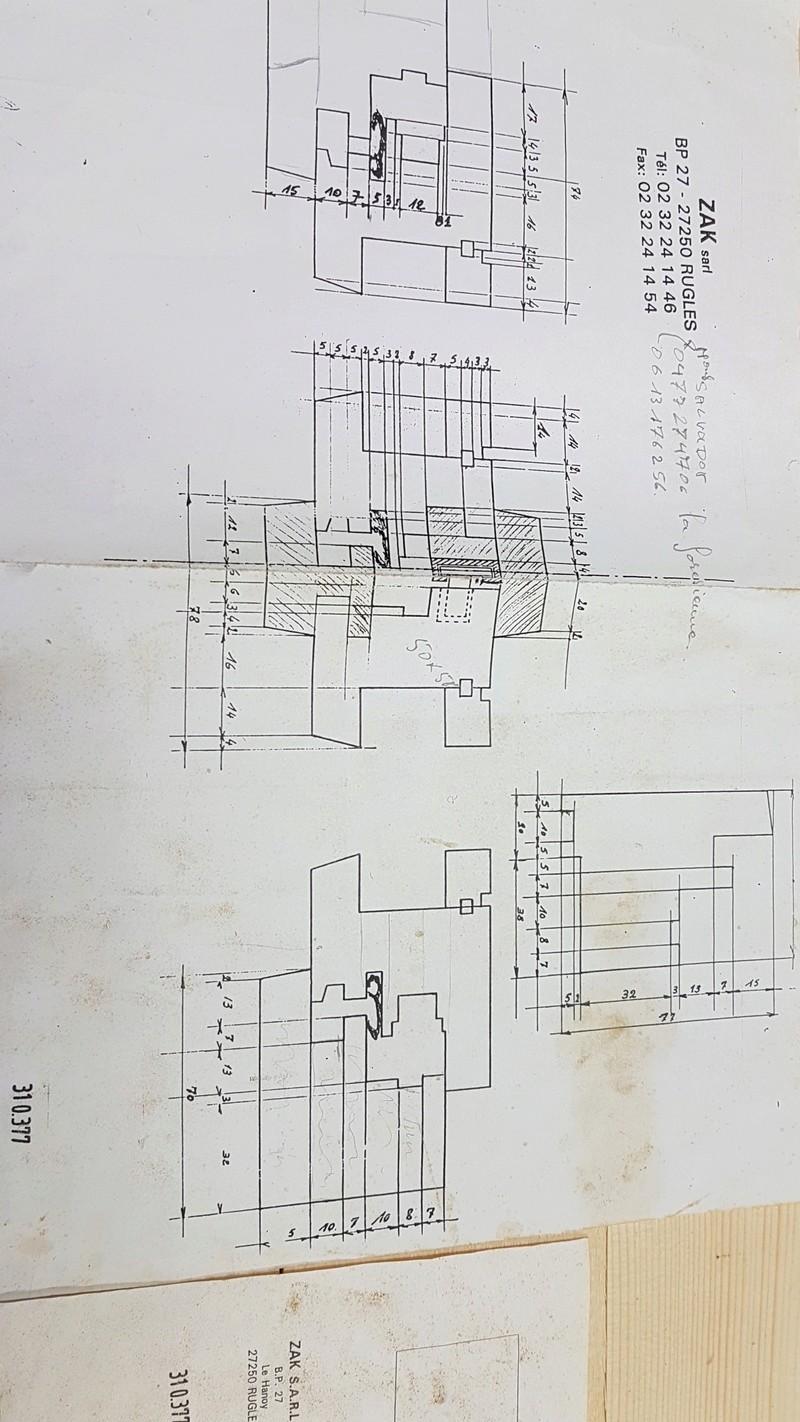 Extension de mon atelier. Les portes de la façade - Page 3 20180322